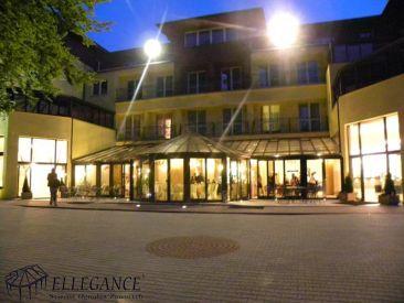 Zadaszenie tarasu Hotel Grand w Rozewie