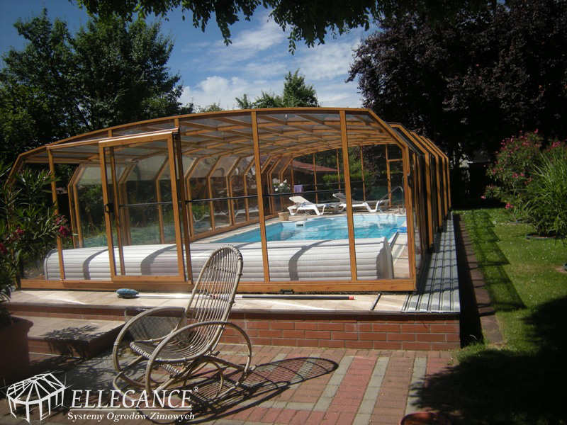 Zabudowa teleskopowa basenu