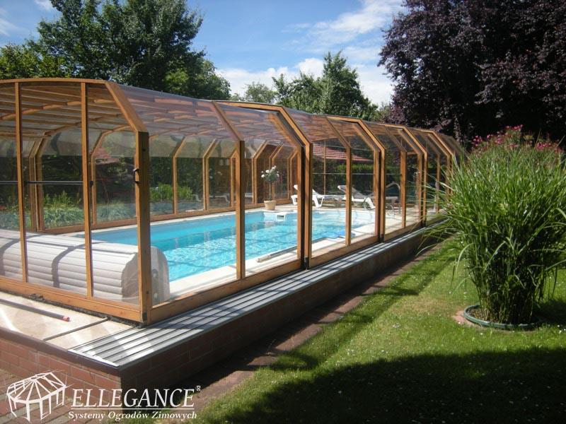 Zabudowa basenu eleskopowa trapezowa