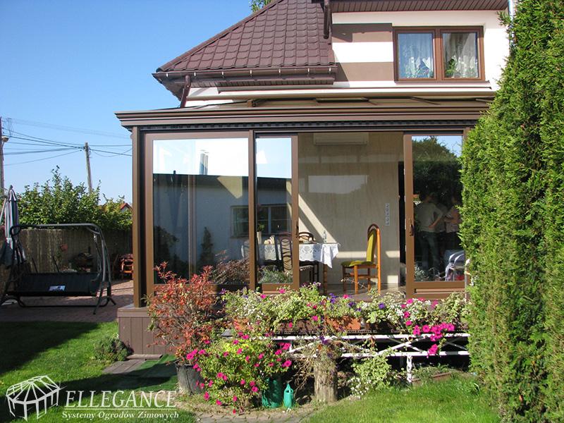 ogród zimowy mały domowy